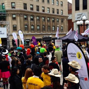 Urban Duathlon for the CHU Sainte-Justine Foundation